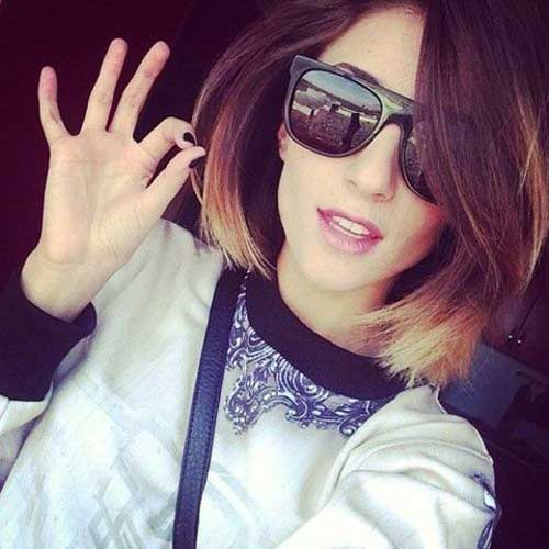 Brown Blonde Ombre Bob Hair Ideas