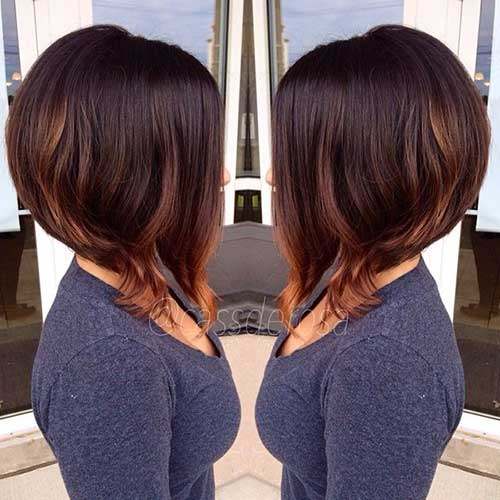 Groovy 30 Best Short Graduated Bob Bob Hairstyles 2015 Short Hairstyles For Women Draintrainus