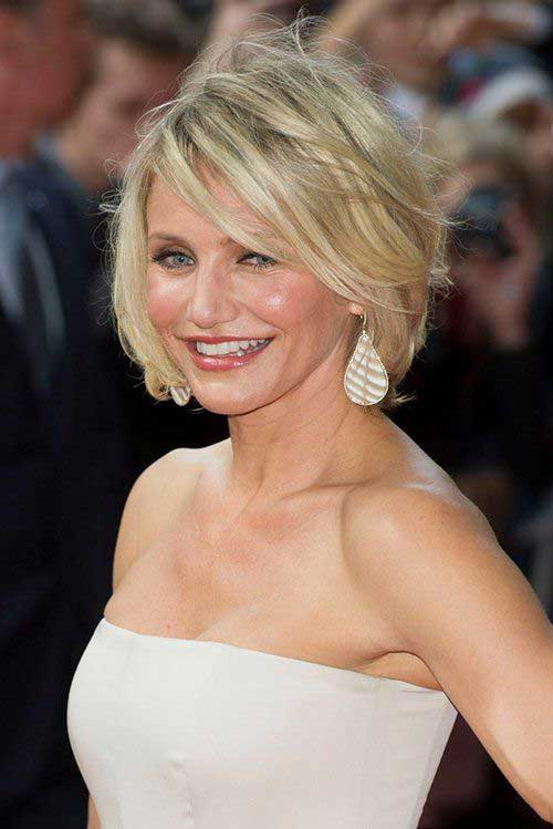 10 Nice Cameron Diaz Bob Hairstyles | Bob Hairstyles 2017 - Short Hairstyles for Women