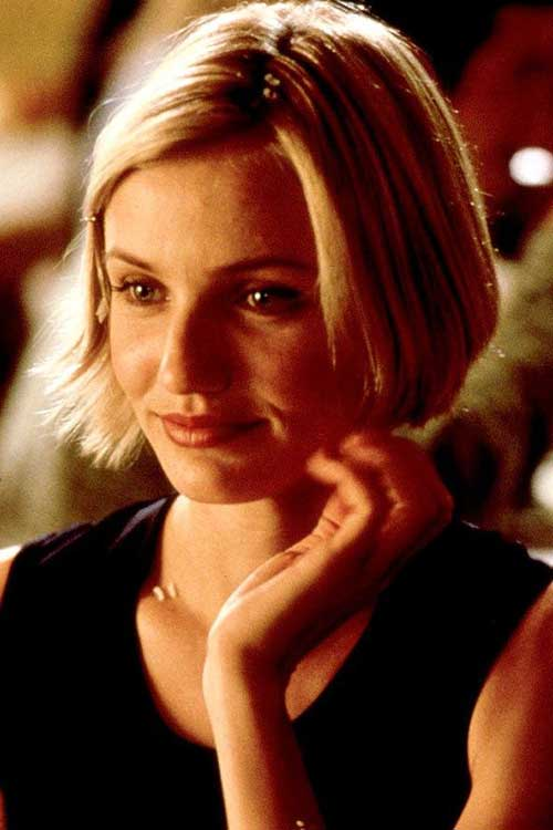 Cameron Diaz Cute Bob Hairstyles