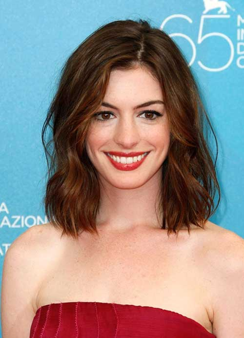 Casual Long Bob for Wedding Hairstyles