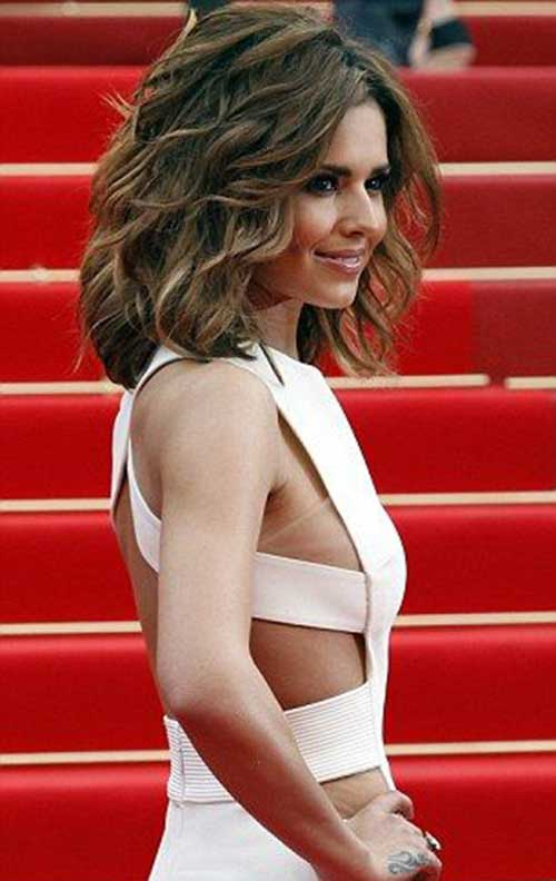 Cheryl Cole Long Thick Bob