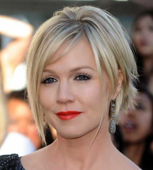 Chic Blonde Layered Short Bob Styles 2014