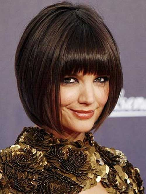 Chinese Dark Bob Hairstyle