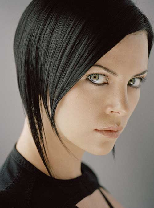 Chinese Dark Bob Hairstyles