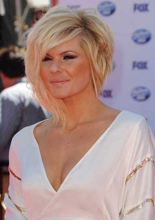 Choppy Asymmetrical Bob Haircuts 2014-2015