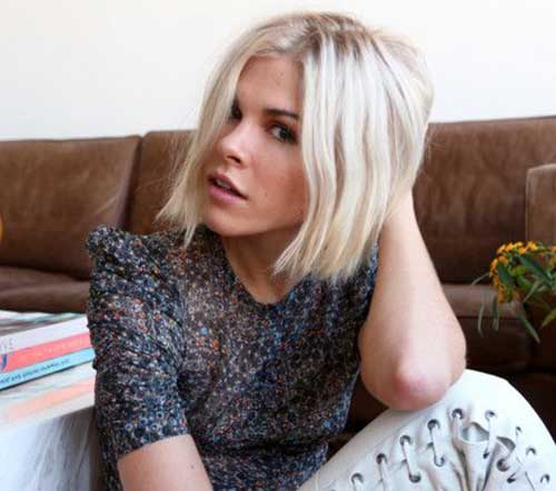 Choppy Blonde Bob Hairstyles