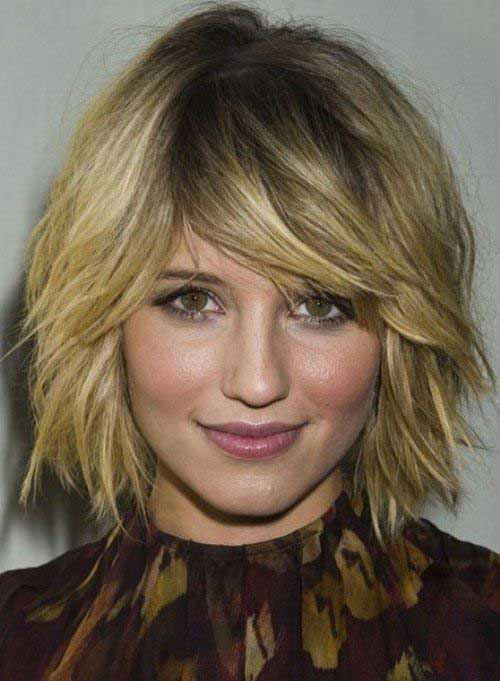 Layered Choppy Bobs 2014