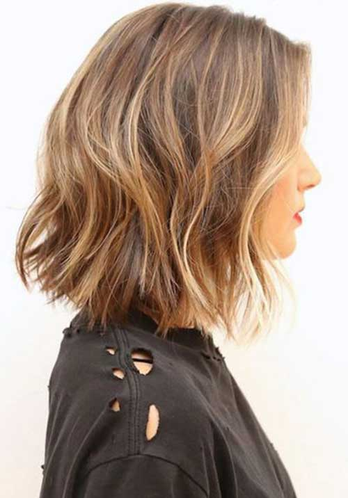 Wavy Choppy Hairstyles : Short choppy bob hairstyles