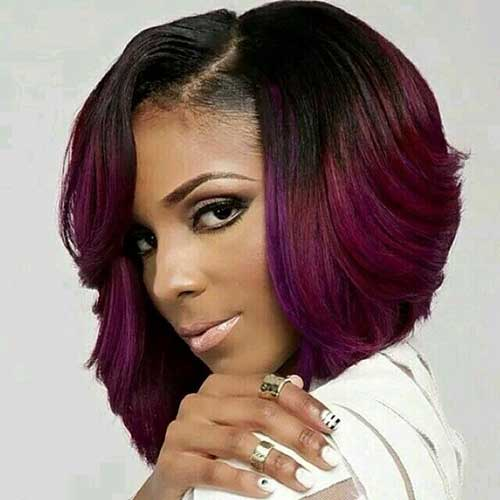 Classy Bob Haircuts for Black Women