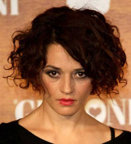Curly Short Bob Haircuts