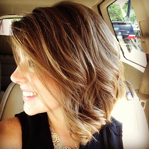 Cute Mid Length Bob Haircuts