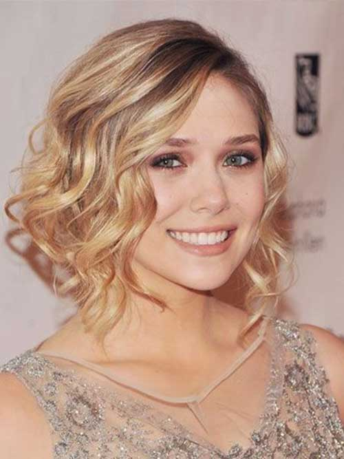 Curly Hairstyles for Bobs for Weddings