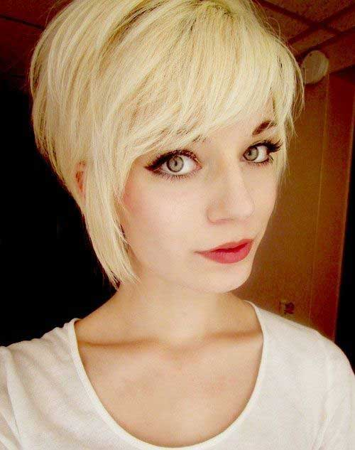 Heart Shaped Pixie Bob Cuts