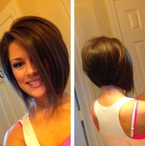 Inverted Graduated Bob Cuts