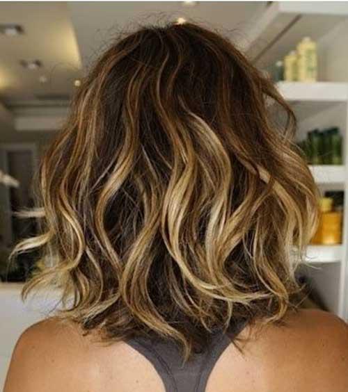 Layered Bob Haircuts for Black Women Back View