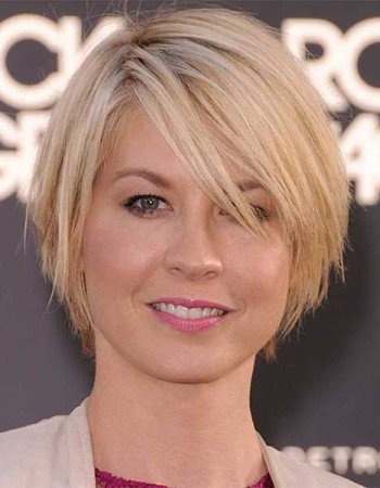 Layered Thin Bob Haircuts for Round Faces