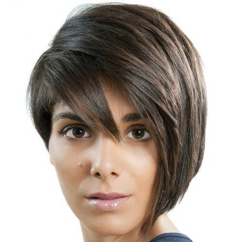 Layered Half Bob Hairstyles