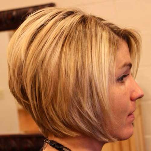 Layered Stacked Trendy Bob Cut
