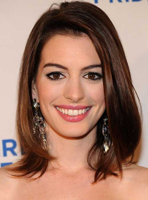 Long Bob Straight Hairstyles 2014-2015