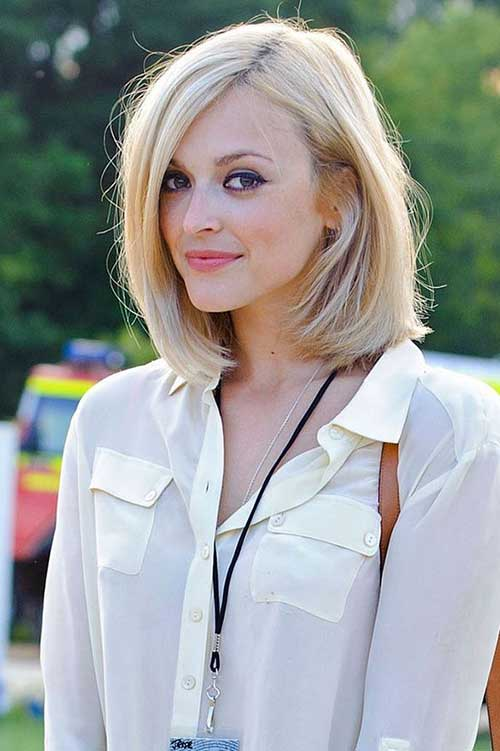 Long Blonde Bob Wedding Hairstyles