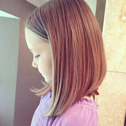 Long Bob for Little Girls