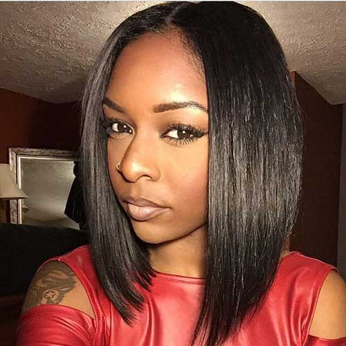 20 Long Bob Hairstyles For Black Women 2017 Short