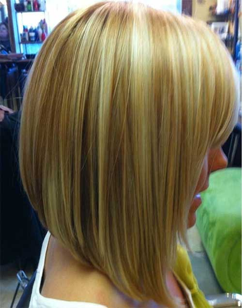 Long Inverted Cute Bob Hairstyles