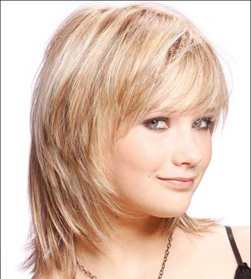 Tremendous 10 Layered Bob Haircuts For Round Faces Bob Hairstyles 2015 Hairstyles For Men Maxibearus
