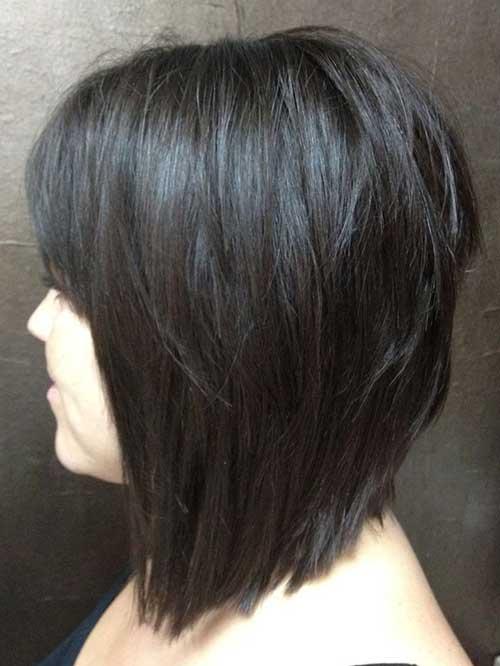 Nice Dark Bob Hairstyles 2014