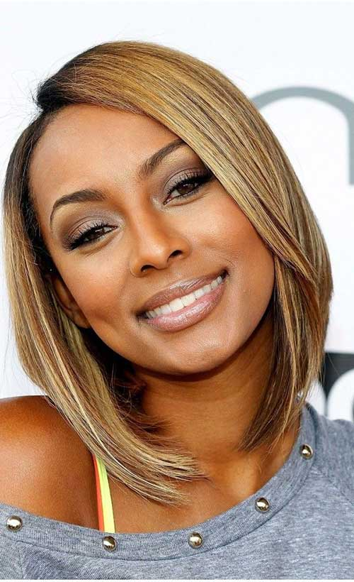 Short Blonde Bob Hairstyles for Black Women 2014