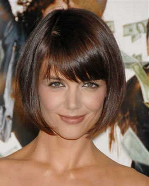 Short Bob Hairstyles with Bangs for Over 40