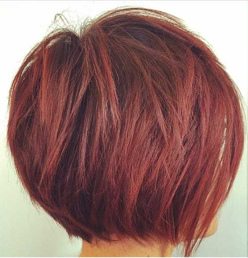 Short Layered Bob Cuts Bob Hairstyles 2018 Short
