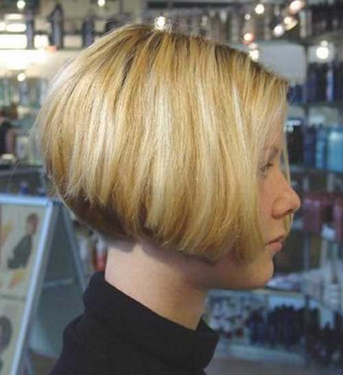 Short Layered Thick Bob Styles 2014-2015