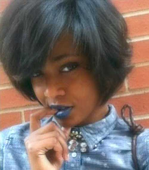 Short Trendy Bob for Black Women 2015