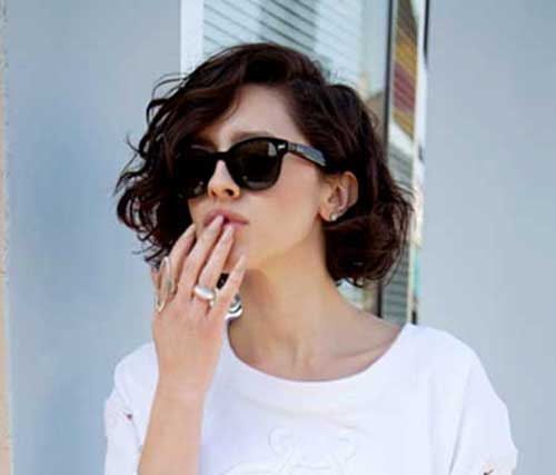 Enjoyable 20 Best Short Wavy Bob Hairstyles Bob Hairstyles 2015 Short Hairstyle Inspiration Daily Dogsangcom