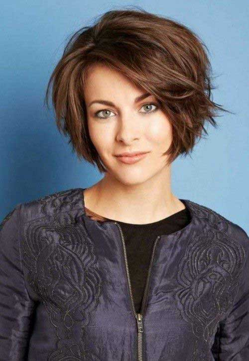 Side Swept Bob Haircut 2015
