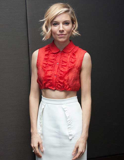 Sienna Miller Bob Haircut Ideas