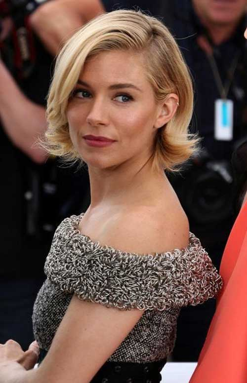 Sienna Miller Short Hair 2015