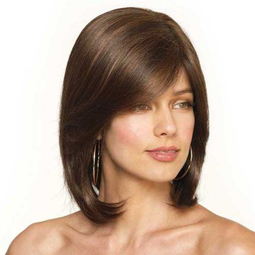 Straight Bob Hairstyles for Women Over 40