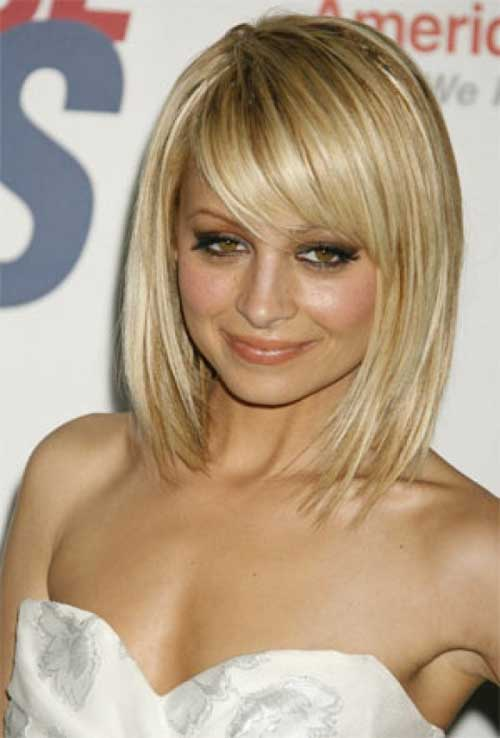 Brilliant 15 Latest Long Bob With Side Swept Bangs Bob Hairstyles 2015 Hairstyle Inspiration Daily Dogsangcom