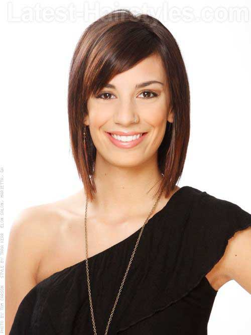 Tremendous 15 Medium Layered Bob With Bangs Bob Hairstyles 2015 Short Short Hairstyles For Black Women Fulllsitofus