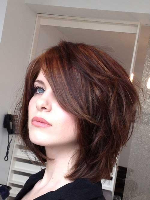 Stylish Brown Bob Hair Style
