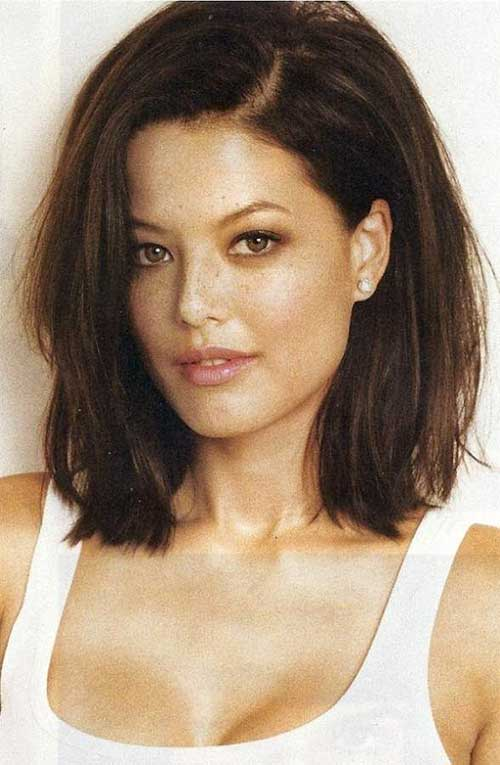 Enjoyable 20 Long Bob Dark Hair Bob Hairstyles 2015 Short Hairstyles For Short Hairstyles For Black Women Fulllsitofus