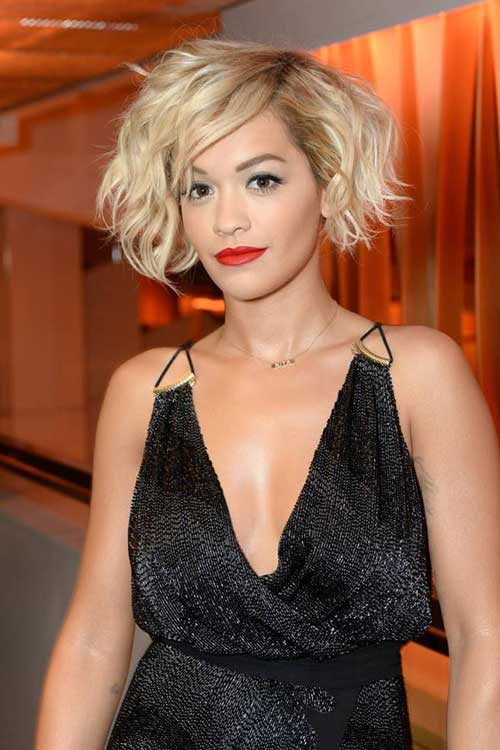 Tousled Short Bob Haircut