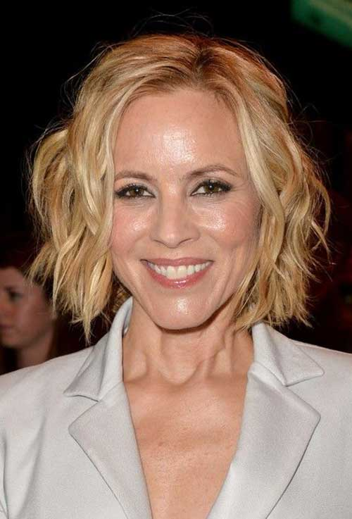 Tousled Cute Bob Hairstyles Ideas