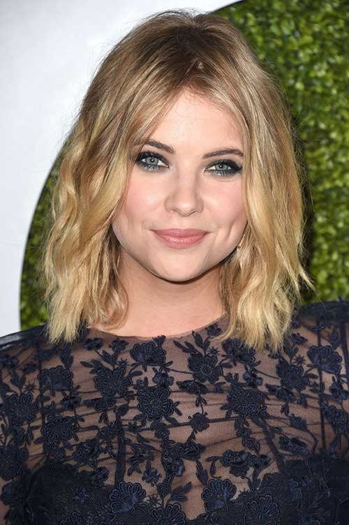 Tousled Long Bob Haircuts Ideas