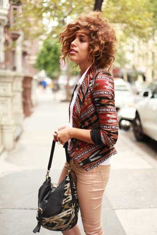 Trendy Curly Bob Hairstyles 2015