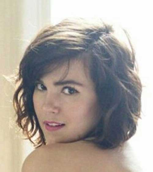 Magnificent Wavy Short Bob Hairstyles How To Best Hairstyles 2017 Hairstyles For Women Draintrainus