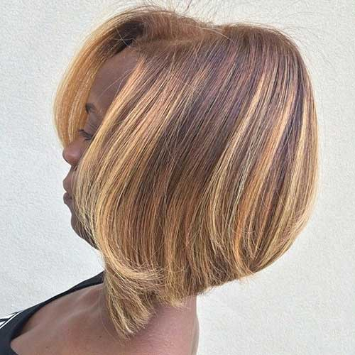 Black Girl Short Bob Hairstyles